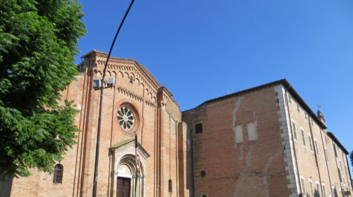 Abbazia di San Bernardo Fontevivo facciata