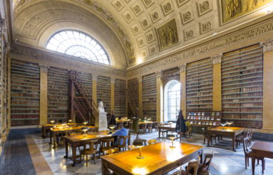 Biblioteca Palatina sala lettura