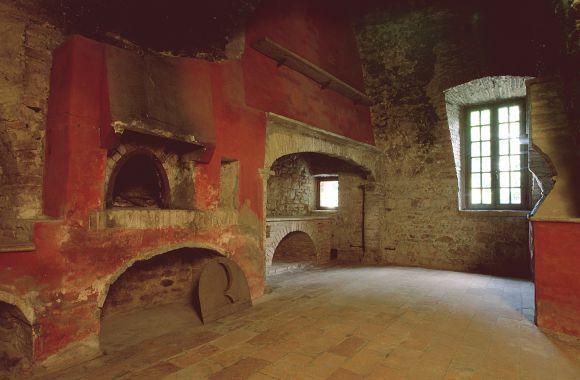Castello di Felino interno