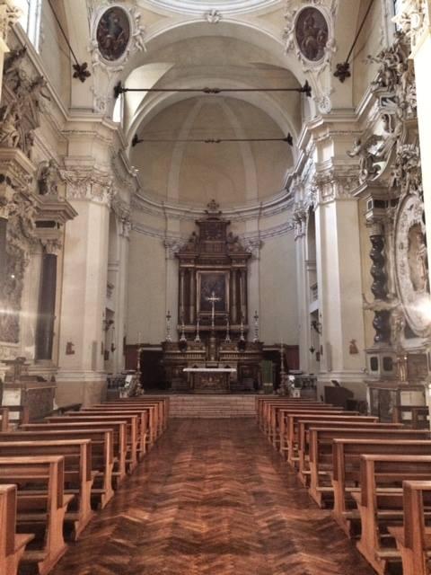 Chiesa di San Pietro interno
