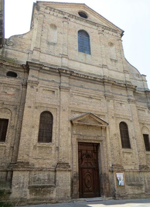 Chiesa di San Quintino facciata