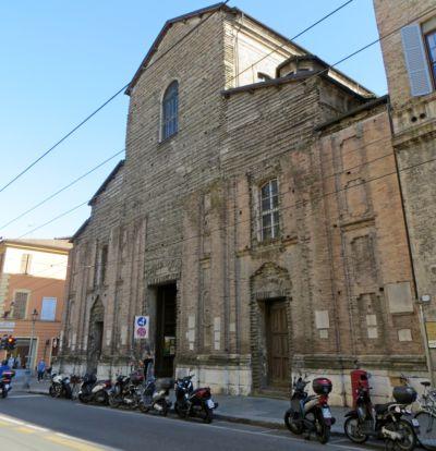 Chiesa di Santa Cristina facciata