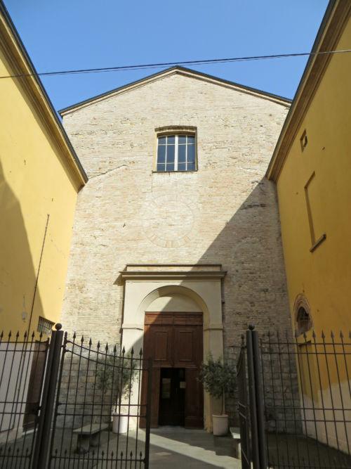 Chiesa della Santissima Trinità facciata