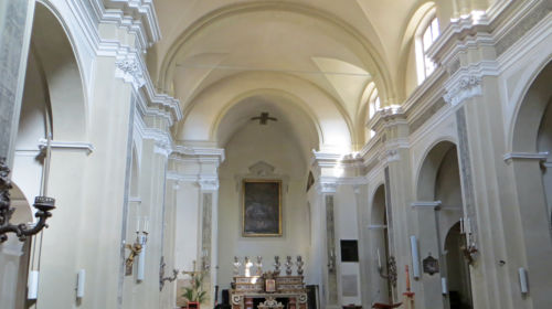 Chiesa della Santissima Trinità navata