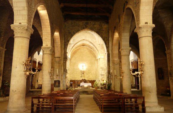 Duomo Berceto interno