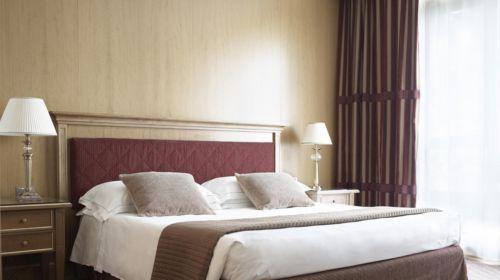 Camera del Grand Hotel de la Ville di Parma