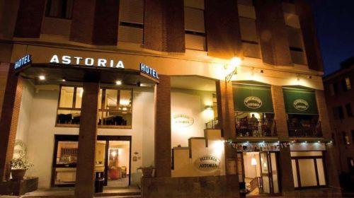 Esterno dell'Hotel Astoria Fidenza