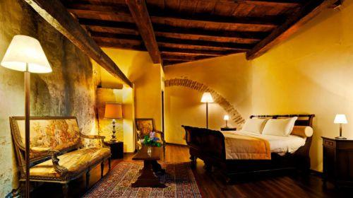 Camera dell'Hotel Relais Castello di Compiano