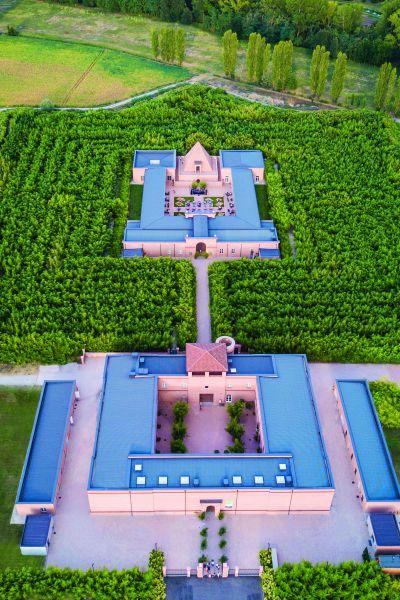Labirinto visto dall'alto. Credits Archivio fotografico Franco Maria Ricci