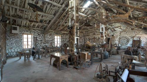 Sala interna del Museo Ettore Guatelli a Ozzano Taro di Collecchio