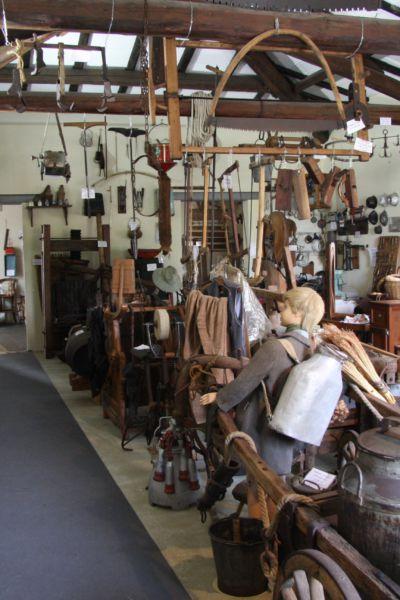 Sala interna del Museo civiltà contadina a Soragna