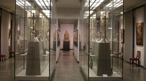 Interno del Museo del Duomo di Fidenza