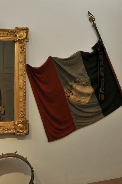 Particolare del Museo del Risorgimento Musini a Fidenza