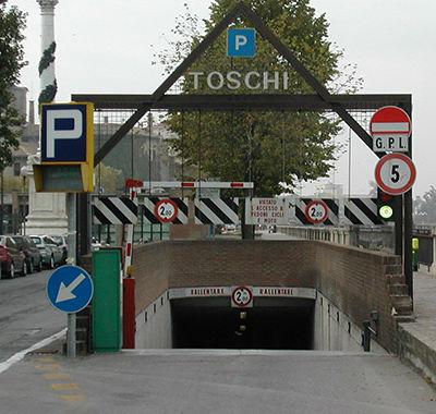 Parcheggio Toschi Parma