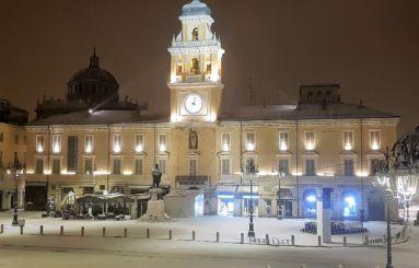 Piazza Garibaldi inverno