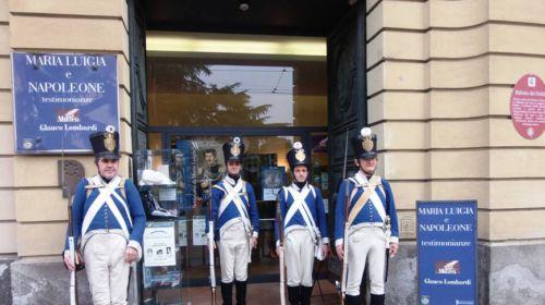 Soldati ingresso Museo Glauco Lombardi