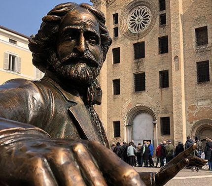 Statua Verdi