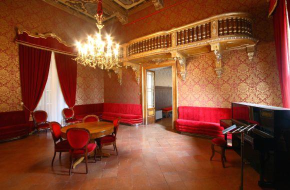 A room of the Verdi theatre