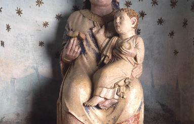 Madonna col Bambino Abbazia Fontevivo