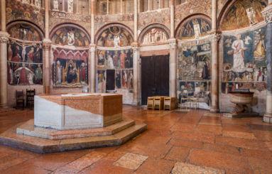 Battistero Parma fonte battesimale