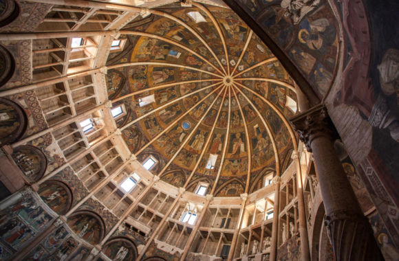 Battistero Parma cupola