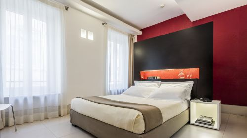 Camera del Savoy hotel di Parma