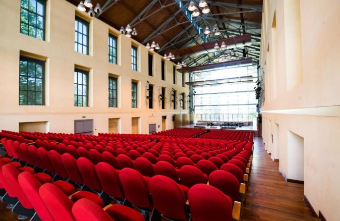 Auditorium Paganini interno