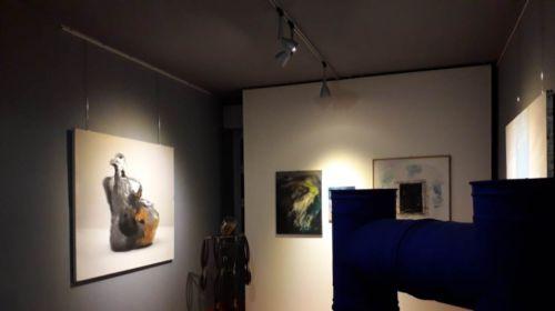 Sala espositiva della Collezione civica di arte contemporanea
