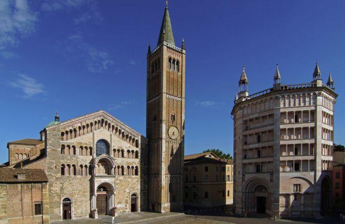 Parma Duomo e battistero