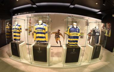Parma Calcio Museo interno