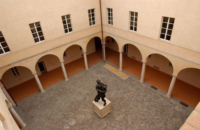 Palazzo Cusani cortile