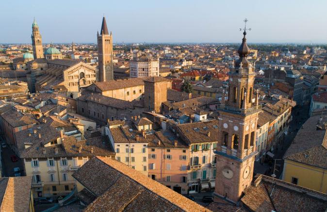Parma dall'alto Parma City Tour