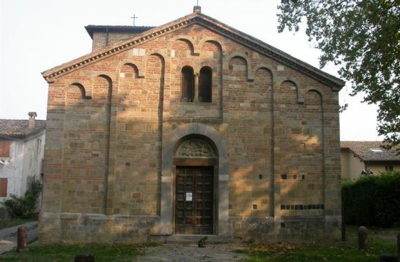 Pieve di Talignano facciata