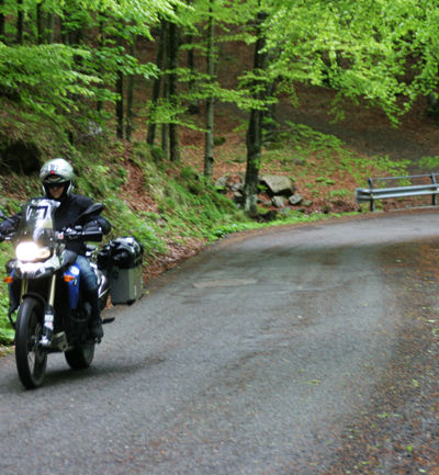 Valtaro in moto