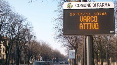 Varchi zone a traffico limitato Parma