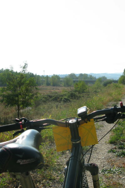 La voladora, a bike itinerary from Parma to Lesignano