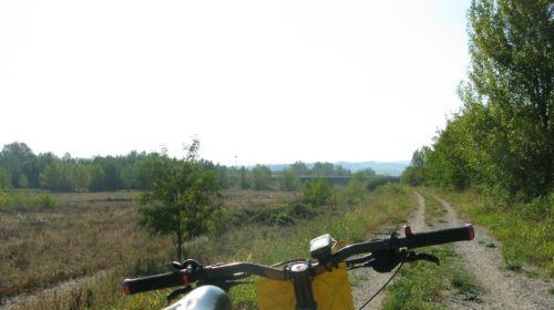 La voladora, a bike itinerary from Parma to Lesignano