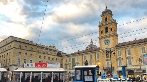 Il trenino in Piazza Garibaldi