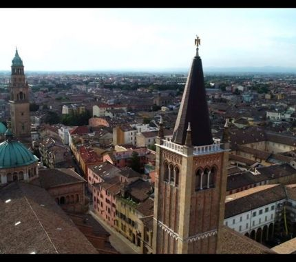 Parma dallalto